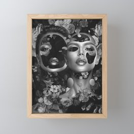 Identity Crisis Framed Mini Art Print
