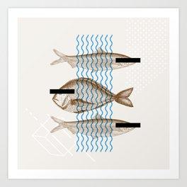 CensoredFish Art Print