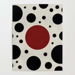 """""""Abstract Japanese Cow"""" Poster"""