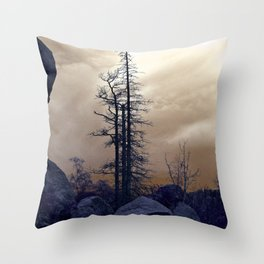 Dead Tree At Needles Highway Throw Pillow