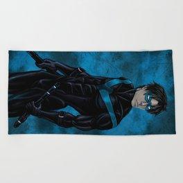 Nightwing Beach Towel