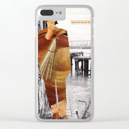 Fed up on talk of sex Clear iPhone Case