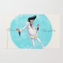 Elvis the Pelvis Rug