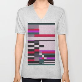 Geometric design - Bauhaus inspired Unisex V-Neck