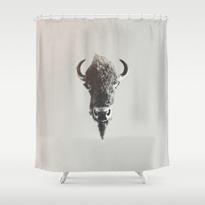 old west shower curtain by floresimagespdx society6. Black Bedroom Furniture Sets. Home Design Ideas
