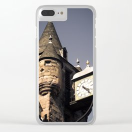 Medieval Turret Clear iPhone Case