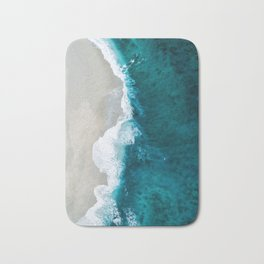 Ocean Divide Turquoise Sea Bath Mat