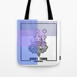 Robot Town color Tote Bag