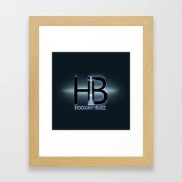 Hookah-Buzz Logo Framed Art Print