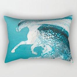 Ocean Horse Rectangular Pillow
