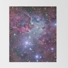 Nebula Galaxy Throw Blanket
