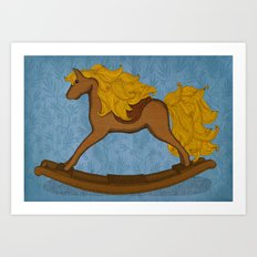 Peta approved racehorse Art Print