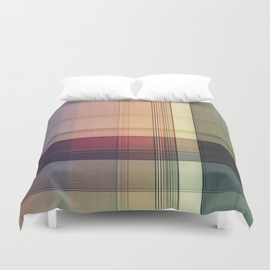 Lines/Abstract 15 Duvet Cover
