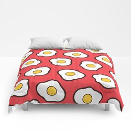 Fried Eggs Pattern Comforters