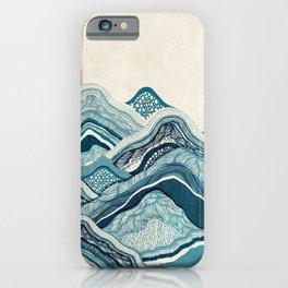 Blue Hike iPhone Case