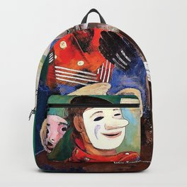 Masks and Cats - Digital Remastered Edition Backpack