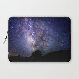 The Milky Way Violet Blue Laptop Sleeve