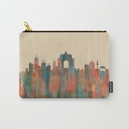 Wellington NZ Skyline - Navaho Carry-All Pouch