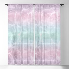 Pool Dream #2 #water #decor #art #society6 Sheer Curtain