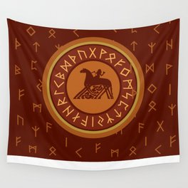Viking Runes 3 Wall Tapestry