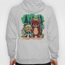 Lumberjack and Friend Hoody