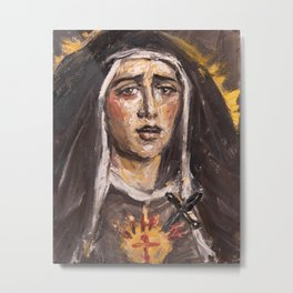 Mother of Sorrows Metal Print