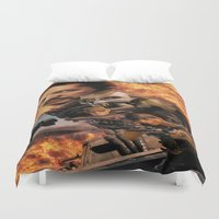 mad max Duvet Covers featuring Mad Max by SB Art Productions