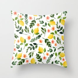 Lemon Grove Throw Pillow