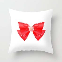 Sailor Moon Anime Transformation Brooch Throw Pillow
