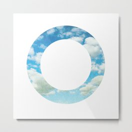 Circly Sky II Metal Print