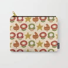 mario items pattern Carry-All Pouch