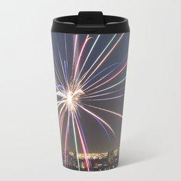 Fireworks. Travel Mug