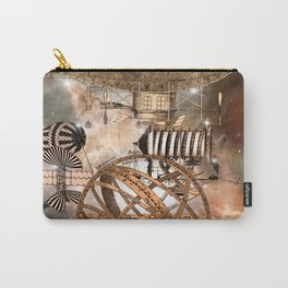 Steampunk Airship Carry-All Pouch