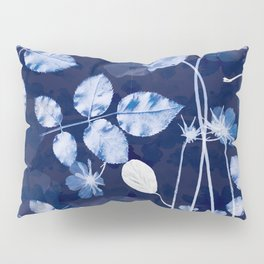 Flora Cyanotype Pillow Sham