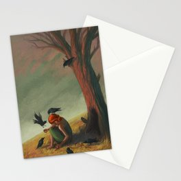 The Seven Ravens Stationery Cards