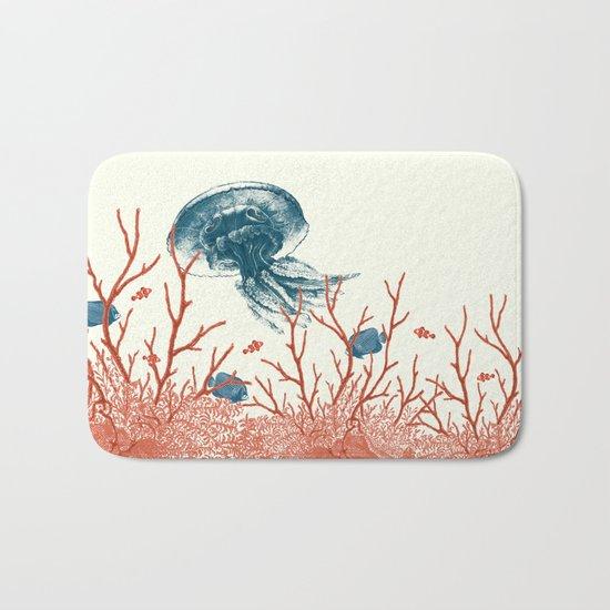 Aquatic Pattern Bath Mat