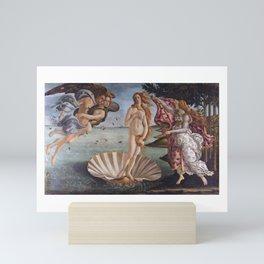Sandro Botticelli The birth of Venus 1485 Artwork for Prints Posters Tshirts Men Women Kids Mini Art Print