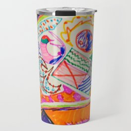 Pop Up Art Travel Mug