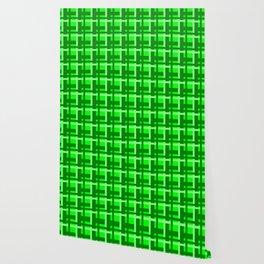 Plaid -- Lime Wallpaper