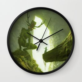 How do you mean you don't wanna go outside? Wall Clock