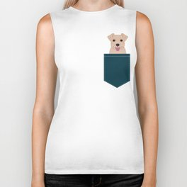 Blair - Norfolk Terrier gifts for dog lovers and pet owner gift ideas. Dog people gifts Biker Tank
