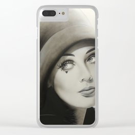 '1968' Clear iPhone Case