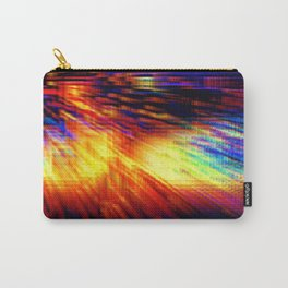 Colorful Geometric Storm Carry-All Pouch