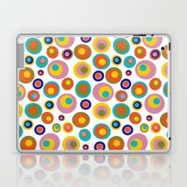 Eyes on the 60s -white Laptop & iPad Skin