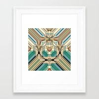 supreme Framed Art Prints featuring Supreme by Fringeman