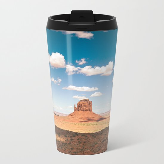 Monument Valley Metal Travel Mug