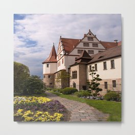 Castle Ratibor Metal Print