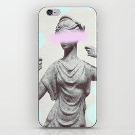Dotty Sculpture iPhone Skin