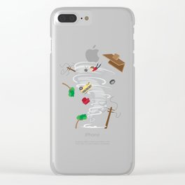 Awesome Tornado & Storm Chasing Clear iPhone Case
