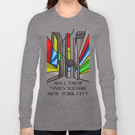 Ball Drop Times Square Long Sleeve T-shirt